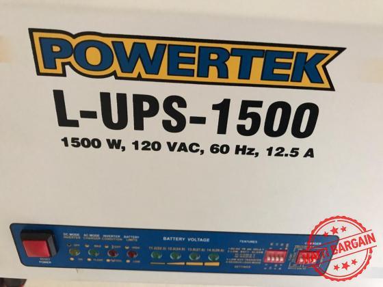 INVERTER POWERTEK 1500W 24V