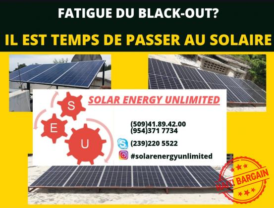 SOLAR ENERGY UNLIMITED