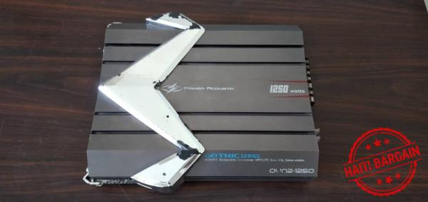 Power Acoustik Gothic Series 1250 Watt 2-Channel Amp