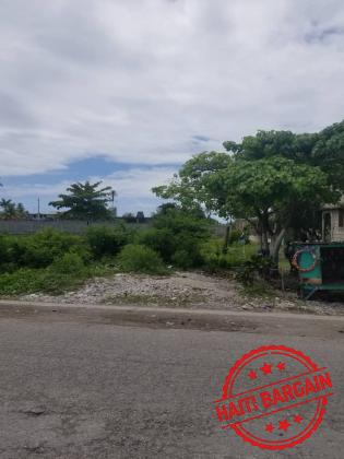 TERRAIN A VENDRE - ZONE:  AUX CAYES (GELEE)