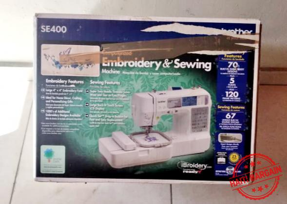 BROTHER EMBROIDERY & SEWING MACHINE
